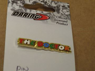 Afbeelding van Valentino Rossi Pin The Doctor letter