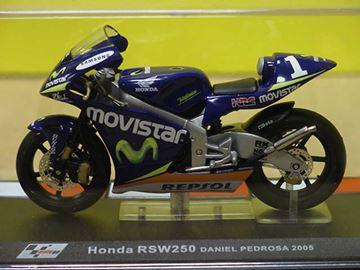 Picture of Dani Pedrosa Honda RSW250 2005 1:24