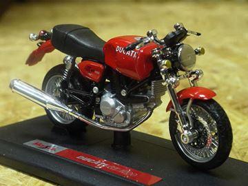 Afbeelding van Ducati GT1000 red 1:18 Maisto