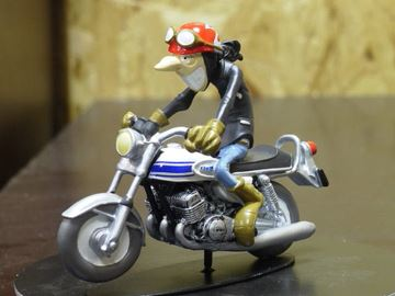 Picture of Joe Bar Jeremy Lasauce Kawasaki 500H1 1:18 JB28