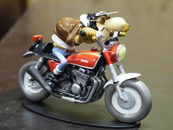 Picture of Joe Bar Edouard Bracame Honda CB750 1:18 JB01