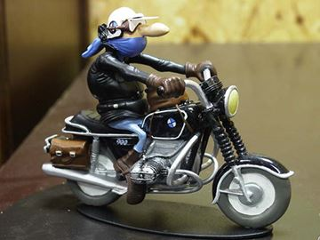 Picture of Joe Bar Raoul Toujourd BMW R90/6 1:18 JB04