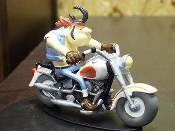Picture of Joe Bar Hercule Butter Harley Davidson 1340 1:18 JB03