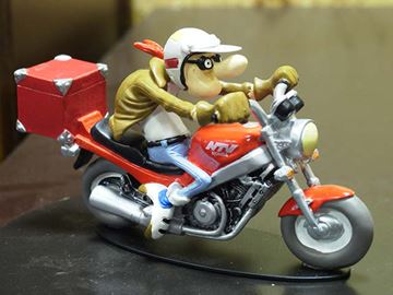 Picture of Joe Bar Raoul Mapoule Honda 650 NTV 1:18 JB07