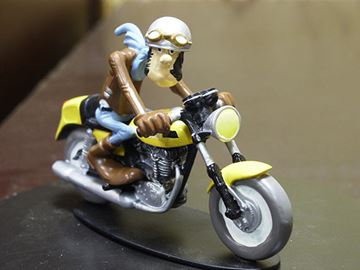 Picture of Joe Bar Ted Debielle Ducati 350 Desmo 1:18 JB02