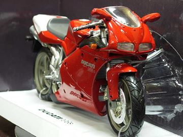 Picture of Ducati 998s red 1:12 43693