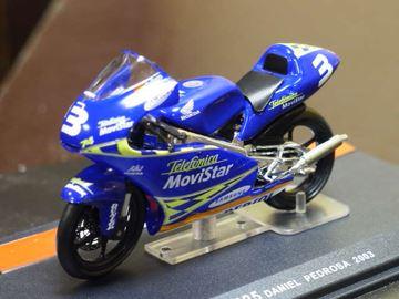 Afbeelding van Dani Pedrosa Honda 125 2003 1:24