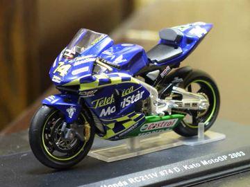 Afbeelding van Daijiro Kato Honda RC211V 2003 1:24