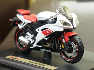 Picture of Yamaha YZF R-6 white 08-09 1:18
