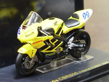 Afbeelding van Fabien Foret Honda CBR600 2002 1:24 IXO
