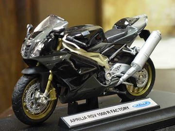 Picture of Aprilia RSV1000R factory 1:18 12807 Welly