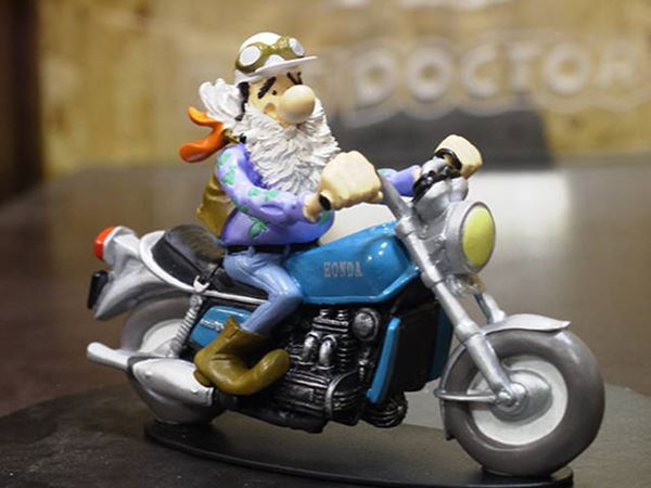 Picture of Joe Bar Bebert Lingo Honda GL1000 1:18 JB47