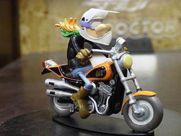Picture of Jeremie Lapuree Harley 883 sportster 1:18 jb34