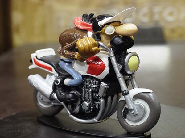 Picture of Joe Bar Edouard Bracame Honda CB1000 1:18 JB35