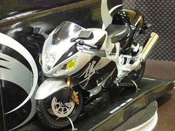 Afbeelding van Suzuki GSX-R1300 Hayabusa blk/grey 1:12 600203