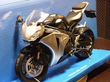 Afbeelding van Honda CBR1000RR Fireblade blk/grey 1:12 600502