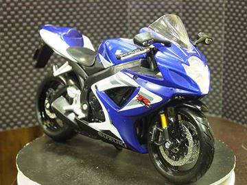 Afbeelding van Suzuki GSX-R750 blue/wht 1:12 31153