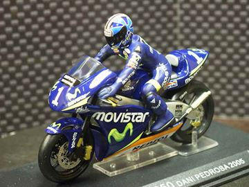 Picture of Dani Pedrosa Honda RSW250 2005 1:24