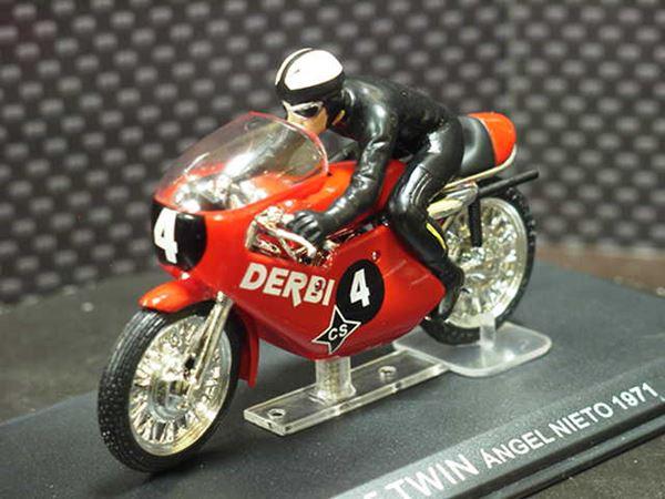 Picture of Angel Nieto Derbi 125 1971 1:24