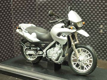 Picture of BMW F650GS 1:18 12146 zilver Welly