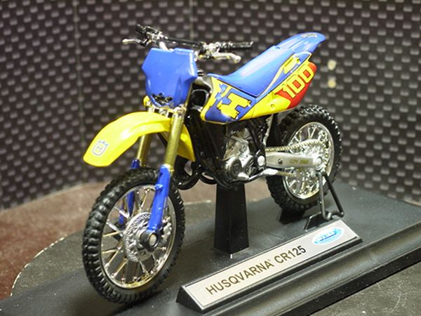 Picture of Husqvarna CR125 1:18 welly