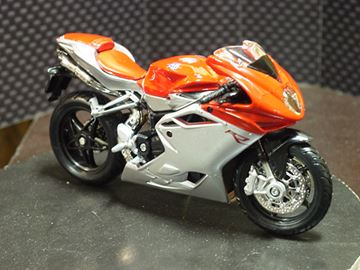 Picture of Mv Agusta F4 1:18 Bburago