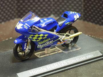 Afbeelding van Toni Elias Honda RS125 2001 1:24