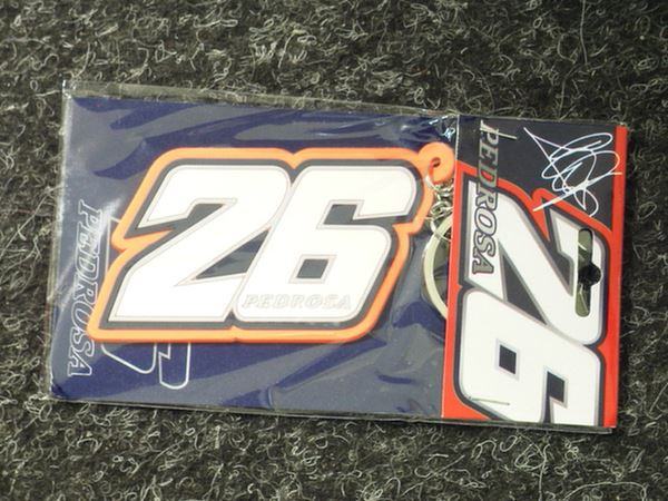 Picture of Dani Pedrosa keyring #26 76706
