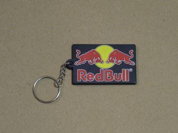 Afbeelding van Red Bull sleutelhanger keyring black