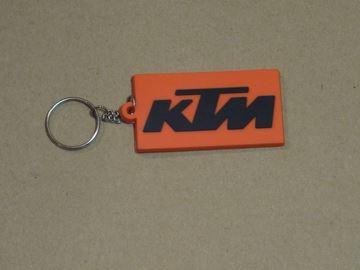 Afbeelding van KTM oranje sleutelhanger keyring
