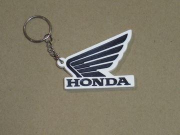 Picture of Honda Wing sleutelhanger keyring black