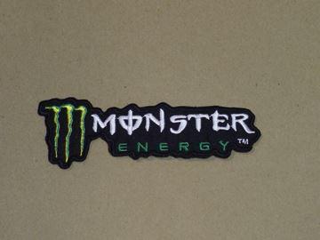 Afbeelding van Patche opstrijk embleem Monster energy text