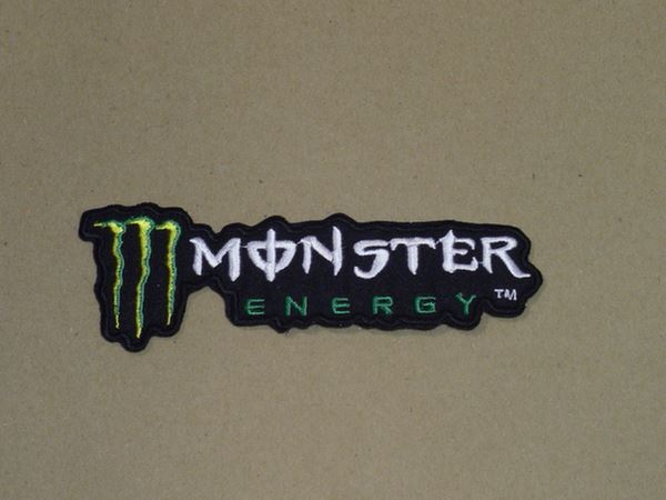 Picture of Patche opstrijk embleem Monster energy text