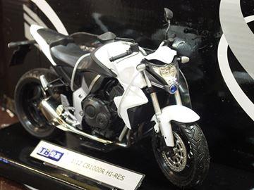 Afbeelding van Honda CB1000R 1:12 wht. 601103