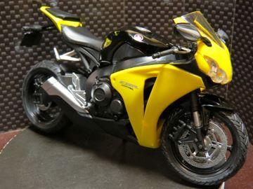 Afbeelding van Honda CBR1000RR Fireblade blk/yell 1:12 600501