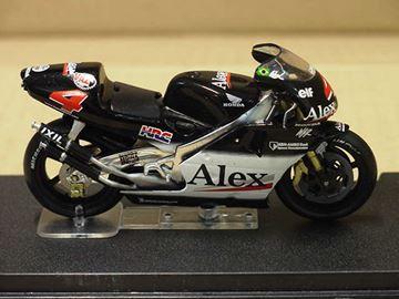 Afbeelding van Alex Barros Honda NSR500 2001 1:24