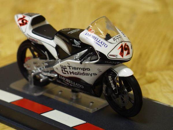 Picture of Alvaro Bautista Honda RSW125 2005 1:24