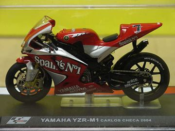Picture of Carlos Checa Yamaha YZR M1 2004 1:24