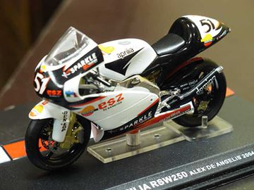 Picture of Alex de Angelis Aprilia RSW250 2004 1:24