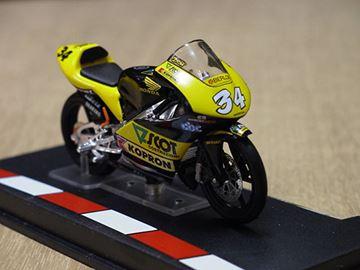 Afbeelding van Andrea Dovizioso Honda RS125 2004 1:24
