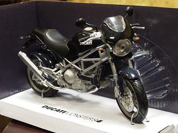 Afbeelding van Ducati Monster S4 zwart 1:12