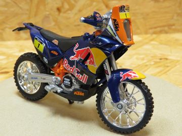 Picture of KTM 450 Dakar Rally Red Bull 1:18  #1 Bburago