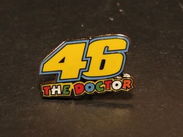 Picture of Valentino Rossi pin 46 the doctor