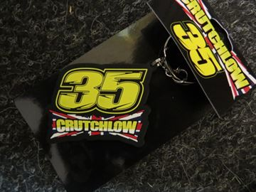 Picture of Cal Crutchlow keyring sleutelhanger #35 CCUKH117703