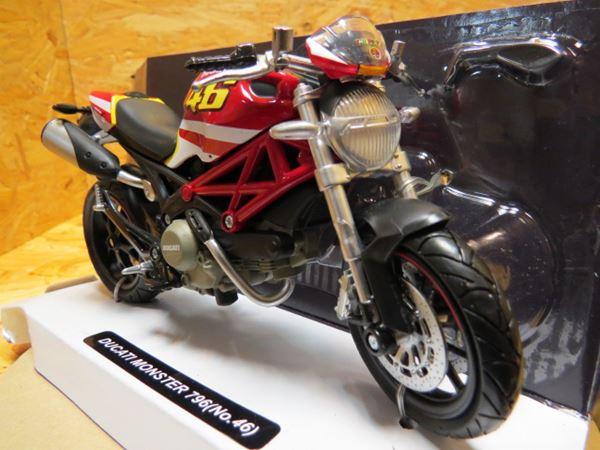 Picture of Ducati Monster 796 Valentino Rossi replica 1:12 57513
