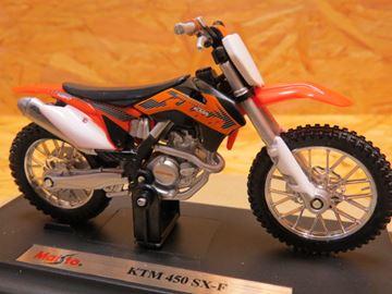 Afbeelding van KTM 450 SX-F 1:18 Maisto