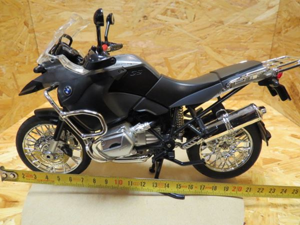Picture of BMW R1200GS grey 1:9 00200