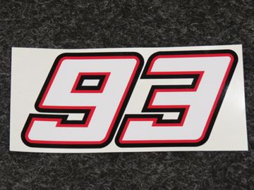 Picture of Sticker 93 Marc Marquez 13 cm.