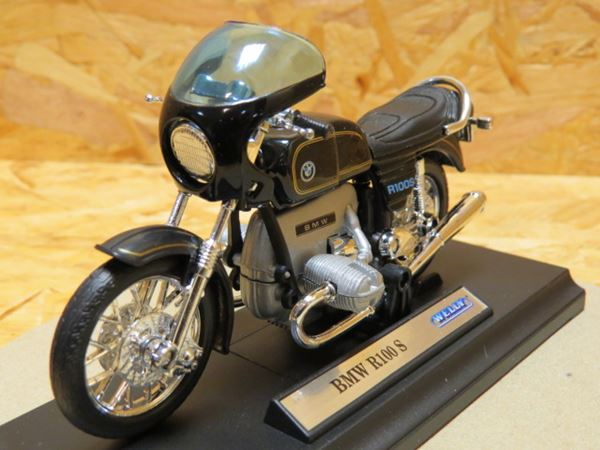 Picture of BMW R100S r100 s 1:18 black 19674