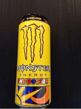 Afbeelding van Valentino Rossi Monster Energy drank The Doctor NL
